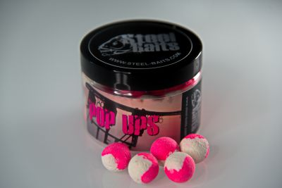 Steel Baits Strong Garlic Pop Ups 100ml Pop Ups