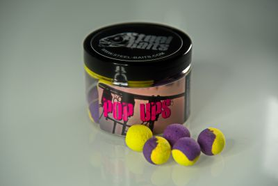 Steel Baits Tasty Tuna Pop Ups 150ml Pop Ups