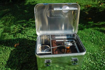 Steel Baits Cooking Box