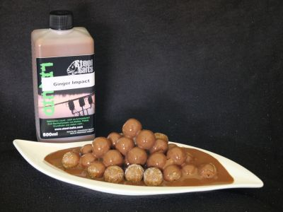Steel Baits Ginger Impact Liquid 500ml